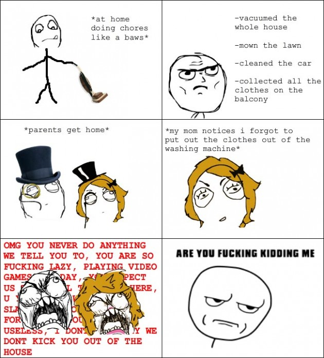 its shit like this parents 630x697 40 Hilarious Parents Related Rage Comics that Will Make You LOL