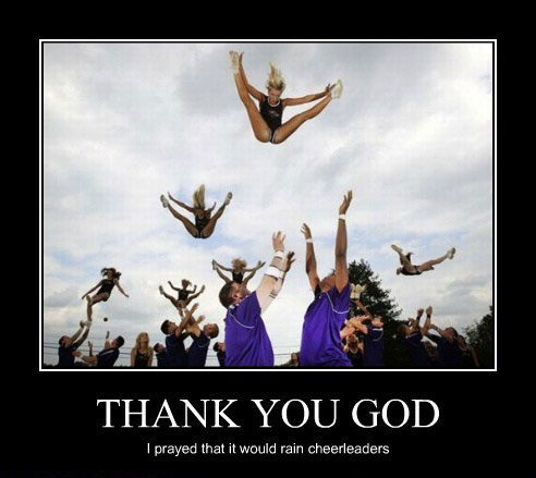 thank you god Your Required Dosage of Demotivation   21 Hilarious Posters