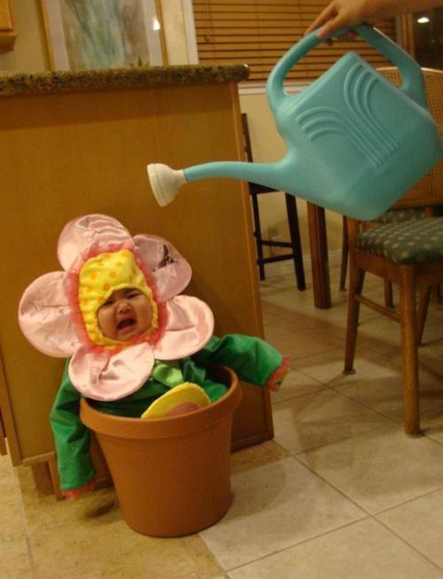 watering my kid