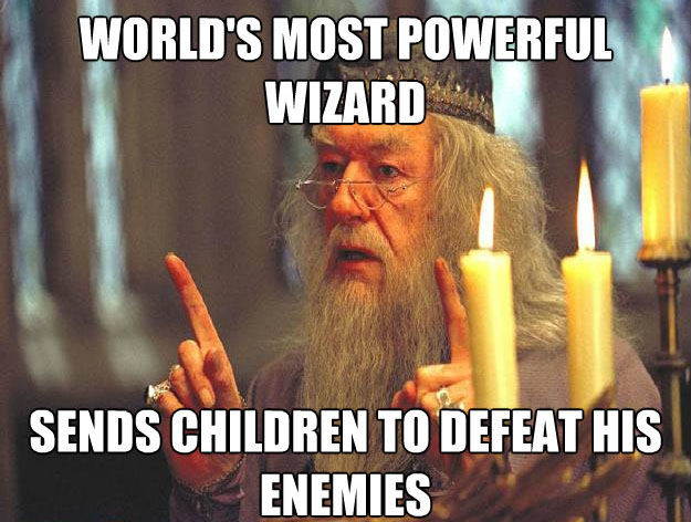 worlds most powerful wizard Scumbag Dumbledore: Hilarious Dumbledore Memes That Make His Douchery Shine