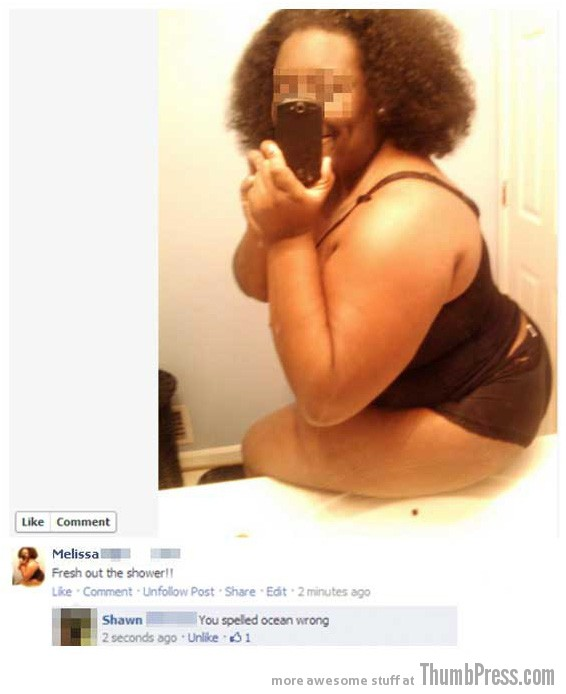 Ocean wrong Facebook Fiascos: 15 of the Worst Facebook Fails to Make You LOL