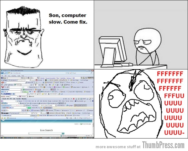 Rage 17 I See Dumb People. 17 Hilarious IT Rage Comics You Can Relate To