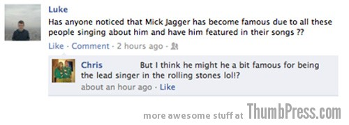 Why is jagger famous