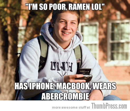 im so poor