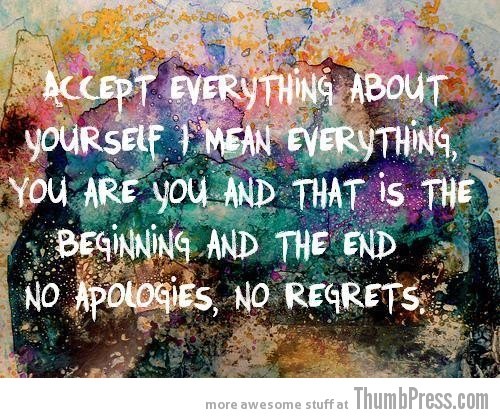 no regrets A Terrific 2012: Top 15 Inspirational Pictures to Start New Year on a Positive Note