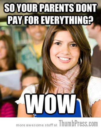 wow Collection of Hilarious Memes About The 3 Most Typical College White Kids (15 Pics)