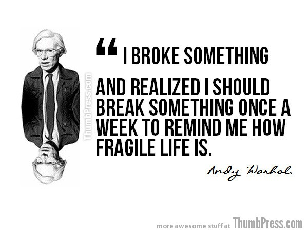 Andy Warhol Celebrity Wisdom: 15 Inspiring Quotations by Popular Celebrities
