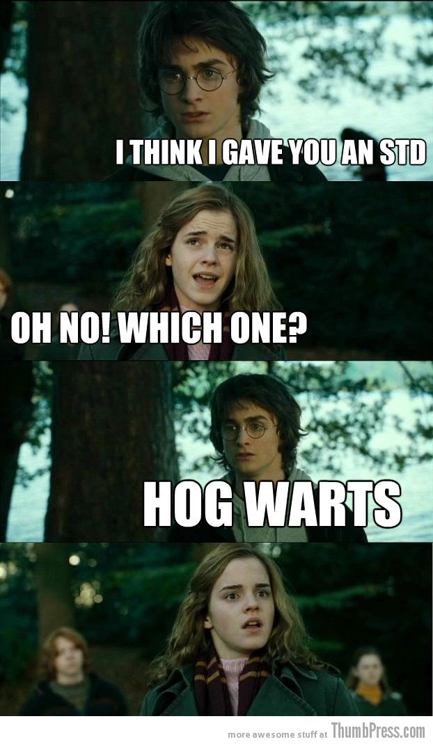Hog Warts Horny Harry: Hilarious Harry Potter Memes that make Hermoine Cringe (20 Pics)