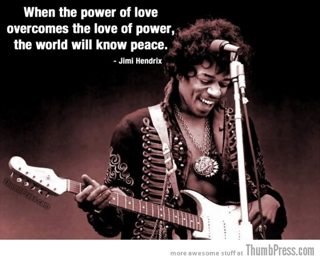 Jimi Hendrix 630x512 Celebrity Wisdom: 15 Inspiring Quotations by Popular Celebrities