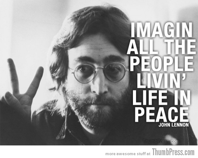 John Lennon 630x503 Celebrity Wisdom: 15 Inspiring Quotations by Popular Celebrities