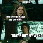 Not my wand