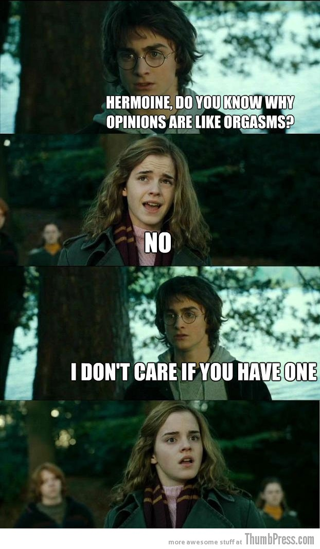 Opinions Horny Harry: Hilarious Harry Potter Memes that make Hermoine Cringe (20 Pics)
