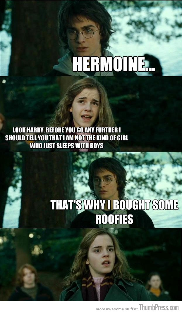 Roofies Horny Harry: Hilarious Harry Potter Memes that make Hermoine Cringe (20 Pics)