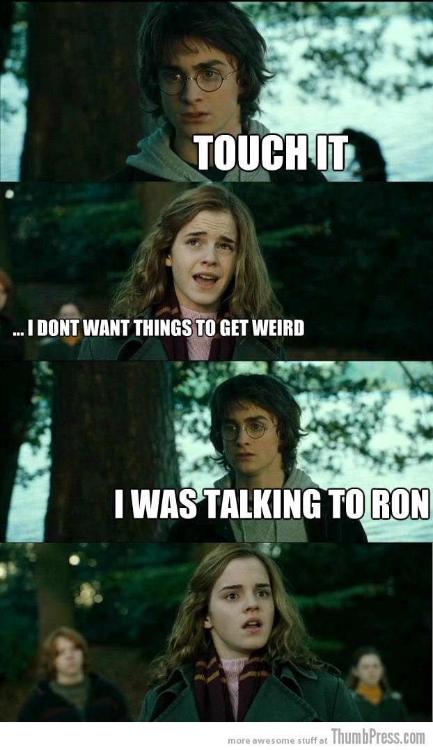 Touch it Horny Harry: Hilarious Harry Potter Memes that make Hermoine Cringe (20 Pics)