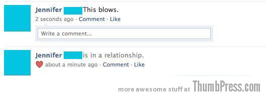 A Common Feeling Post Relationship Update Facebook Makes it Easy to Mess Up Your Relationships (21 Funny Pics)