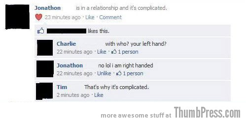 Complicated Facebook Makes it Easy to Mess Up Your Relationships (21 Funny Pics)