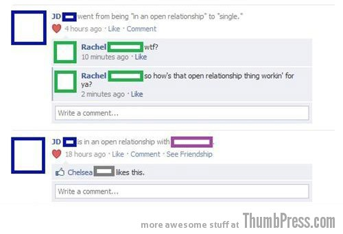 Definitely not working Facebook Makes it Easy to Mess Up Your Relationships (21 Funny Pics)
