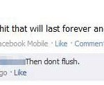 Don&#039;t flush