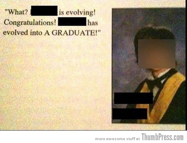 Graduation 3 Graduation Messages, Youre Doing It Right (14 Pics)