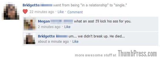 He died Facebook Makes it Easy to Mess Up Your Relationships (21 Funny Pics)