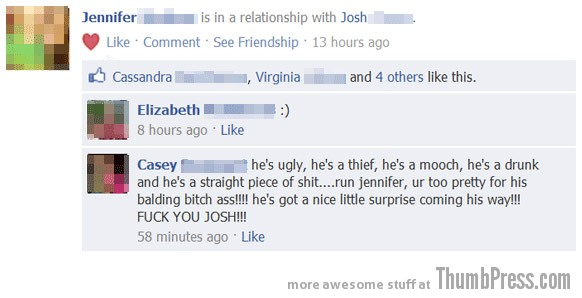 Hes not good for you Facebook Makes it Easy to Mess Up Your Relationships (21 Funny Pics)