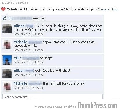 McDoucherson Facebook Makes it Easy to Mess Up Your Relationships (21 Funny Pics)