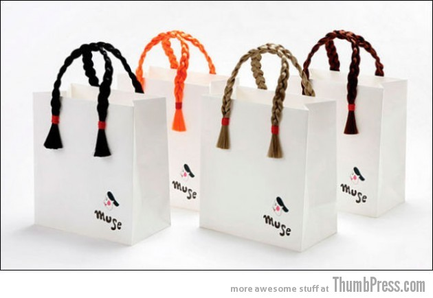 Plastic Bags 15 630x434 Shopping Bags, As Creative As It Gets (29 Pics)
