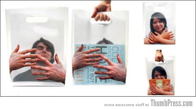 Plastic Bags 5 630x352 Shopping Bags, As Creative As It Gets (29 Pics)