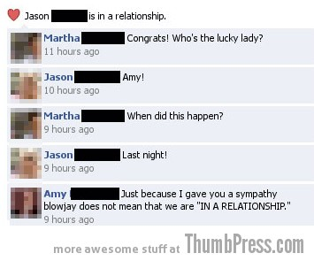 Sympathy blowjay Facebook Makes it Easy to Mess Up Your Relationships (21 Funny Pics)