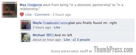 mr. left Facebook Makes it Easy to Mess Up Your Relationships (21 Funny Pics)
