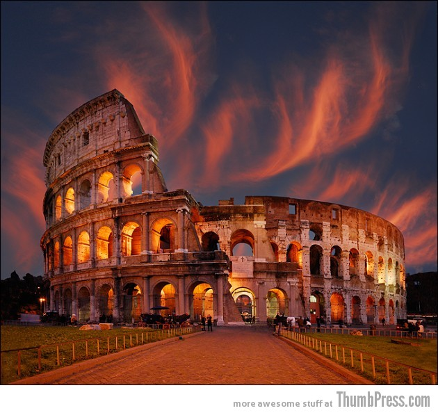 10. Ancient Rome 630x594 25 Epic Photographs of Breathtaking Landscapes