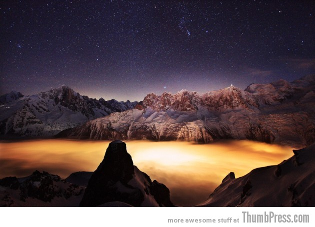 2. France to Chamonix 630x455 25 Epic Photographs of Breathtaking Landscapes