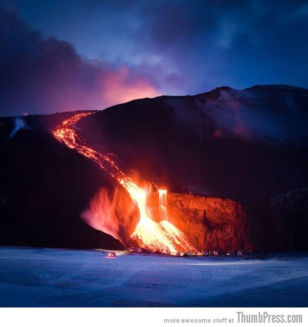 21. Eyjafjallajökull Volcano, Iceland
