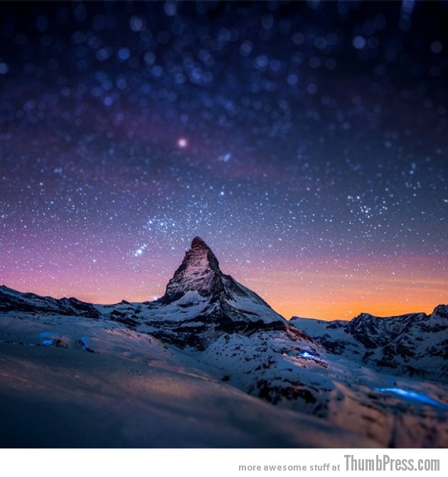 3. Matterhorn Mountain Switzerland 630x670 25 Epic Photographs of Breathtaking Landscapes