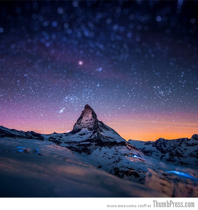 3. Matterhorn Mountain, Switzerland