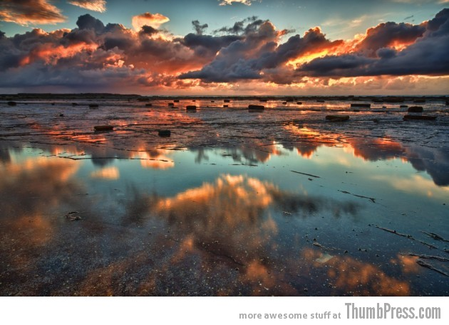 6. Orange reef 630x457 25 Epic Photographs of Breathtaking Landscapes