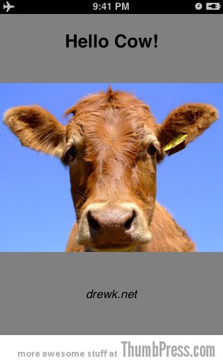 6.HelloCow Top 10 Bizarre iPhone Apps You Wouldnt Believe Exist