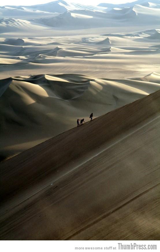 9. Nazca Desert
