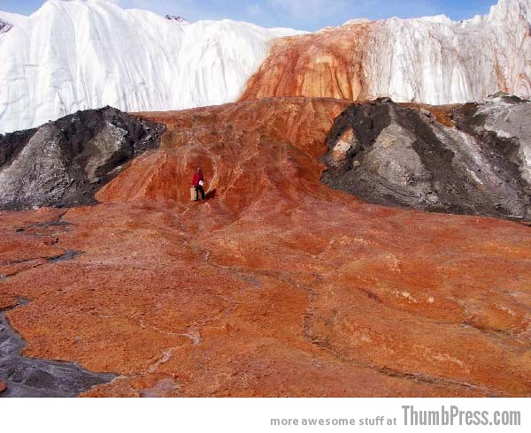 Blood Falls Antarctica 10 Amazing Alien Like Places on Our World That Are From Another Planet