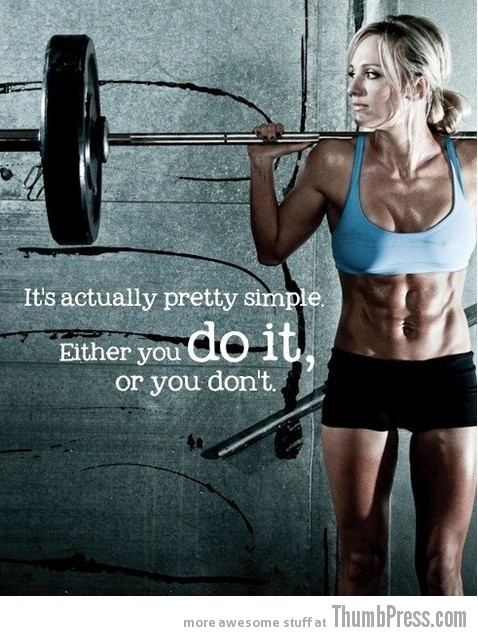 Doit 20 Awesome Motivational Quotes to Help You Start Exercise and Work Out