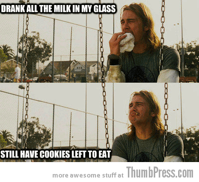 Drank all the milk Rich Stoner Dilemmas: First World Stoner Problems (11 Hilarious Memes)