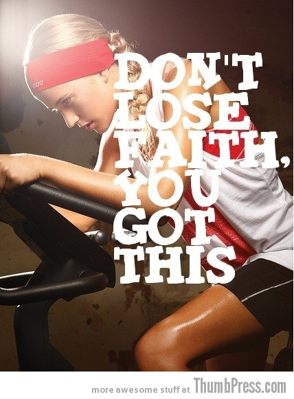 Faith 20 Awesome Motivational Quotes to Help You Start Exercise and Work Out