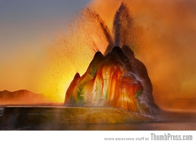 Fly Ranch Geyser Nevada 630x461 10 Amazing Alien Like Places on Our World That Are From Another Planet