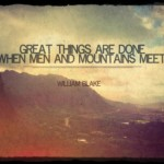 Men and Mountains