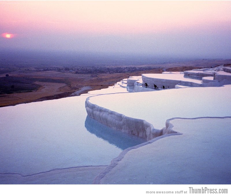 Pamukkale Water Terraces Turkey