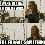 Something in the kitchen