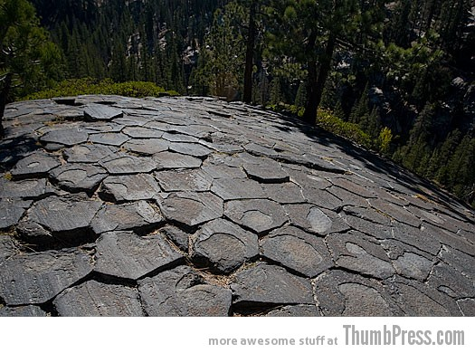 The Devils Postpile California 10 Amazing Alien Like Places on Our World That Are From Another Planet