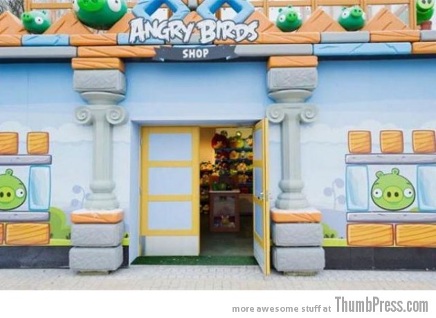 Angry Birds Theme Park 13 630x460 Angry Birds Land Theme Park Opened In Finland