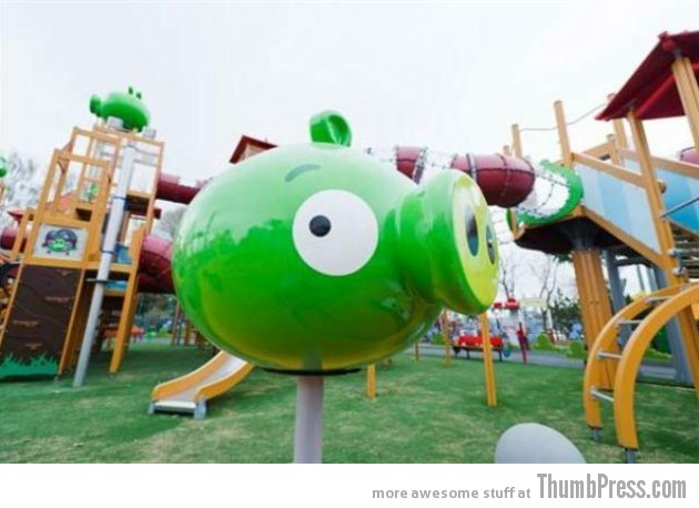 Angry Birds Theme Park 17 630x458 Angry Birds Land Theme Park Opened In Finland
