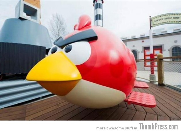 Angry Birds Theme Park 18 630x461 Angry Birds Land Theme Park Opened In Finland